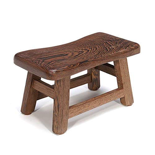 YLCJ Ongeschilderde kofferbak Kleine bank Lange bank Effen houten salontafel Sofa Kruk Veranderende schoenen Kruk Hoge kruk (Afmetingen: 21CM) 15CM