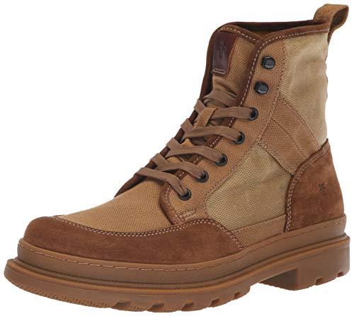 FRYE Men's Scout Combat Boot, tan multi, 9 M M US