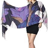 huatongxin 27'x77' Bufanda ligera para mujer Relojes y relojes de estilo bohemio Bufanda Bufanda larga de moda para mujer Elegante manta grande y cálida