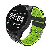 SOLKA Fitness Tracker Monitor de Ritmo cardíaco-1.3 '' Pantalla de Color Grande IP67 Reloj de Fitness Impermeable con Monitor de sueño, Banda de muñeca Inteligente podómetro para Hombres de Mujeres