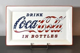 Heart of America Stars & Stripes Ceramic Coke Platter