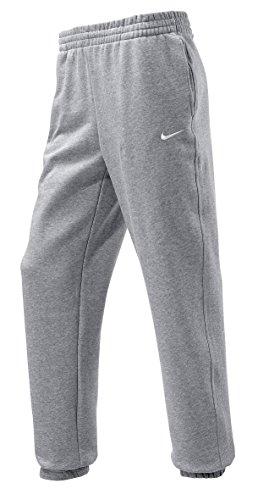 NIKE Herren Jogginghose Squad Fleece, dk grey heather/white, L, 410191-063,