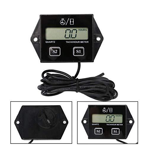 BBINGFANG-W Instrumententafeln Reifen-Timer Tachometer Motorrad Induktive...