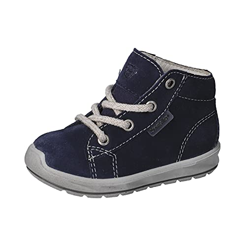 RICOSTA Jungen Boots ZAYNI von Pepino, Weite: Weit (WMS),lose Einlage,Sympatex,Booties,wasserdicht,Kids,Kinderschuhe,Nautic (174),25 EU / 8 Child UK
