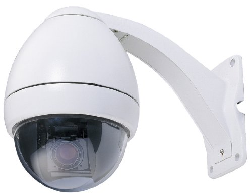 Indoor/Outdoor Day/Night PTZ Camera with ICR and 23X Samsung Zoom (White) - COP Security 15-CD523W-S223