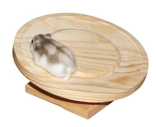 Kerbl 82882 Hamsterlaufteller aus Holzø 20 cm
