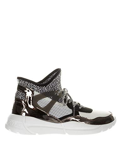 Kendall + Kylie Women's North Sneakers Pewter-Black-White Multicolour in Size 40