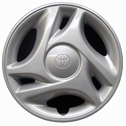 Genuine OEM Hubcap | Fits 2000-2006 Toyota Tundra | Professionally Reconditioned Like-New | 16-inch Factory Replacement Wheel Cover | 61108