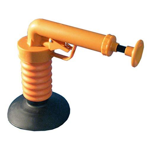 Rohrreiniger Druckluft Pistole | Drain Buster Druckluft Rohrreiniger | Abflussreiniger Pumpe, Pömpel & Saugglocke Alternative | Ideale Rohrreinigung