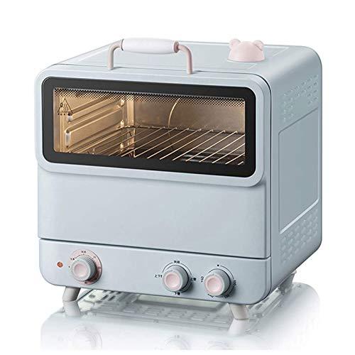 Adesign 20L Tostadora Horno Tablero de Cocina Horno portátil 1200W 60 Min Timer 100-250 °.Máquina Multifuncional al Vapor y la máquina para Hornear la Torta automática de la hornada de Vapor