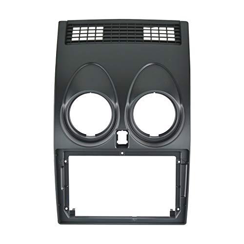 EZoneTronics 9 'Telaio facciale per Nissan Qashqai 2008-2014 Speciale Autoradio Stereo Telaio In-Dash montaggio Kit di installazione Doppio Din