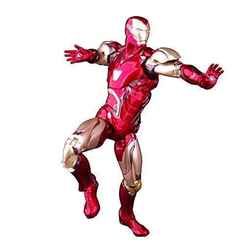 Byx HF Titan héroe - Iron Man - Acción clásico MK85 Modelo de Juguete Warframe con Soporte Fijo y articulado - Alta Aproximadamente 7,0