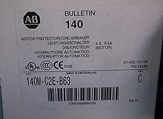 ALLEN BRADLEY CIRCUIT BREAKER 140M-C2E-B63 SERIES C NIB