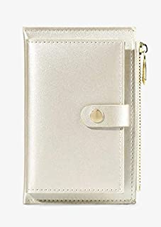 Wallet Card Holder & Money Organizer Purse Soft Leather Card Cases Zipper Credit Card Holder Mini Coin Bags Multi-Function...