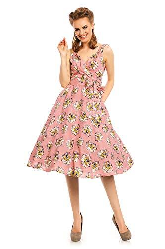 Abito Vintage con Pin up Ispirato alla Moda Vintage Anni '50