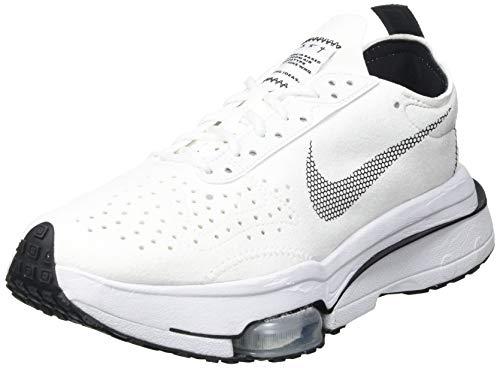 Nike Air Zoom-Type, Zapatillas para Correr Hombre, White Black White Pure Platinum, 44 EU