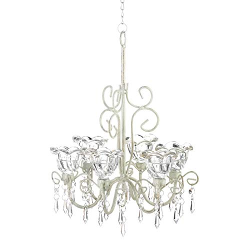 Gallery of Light Home Locomotion Crystal Blooms Candle Chandelier