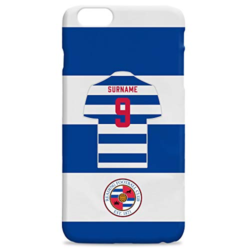 Official PERSONALISED Reading Football Shirt Hard Back Phone Case Iphone & Samsung Compatible