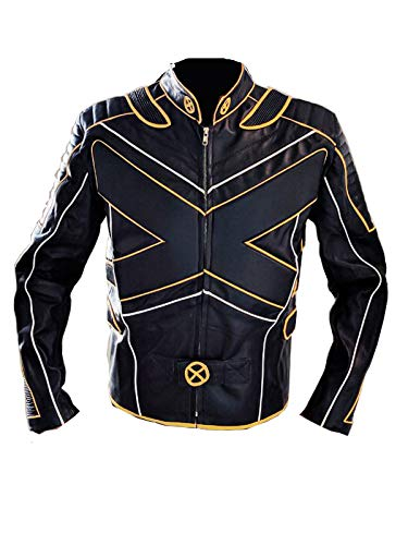 Xmen The Last Stand Real Leather Jacket (2XL) Black