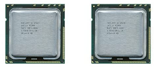 (2) Matching Pair Intel Xeon Quad Core Processors X5570 2.93GHz 8MB SLBF3