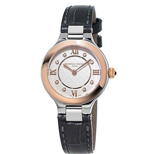 Frederique Constant Geneve Delight FC-200WHD1ER32 Reloj de Pulsera para mujeres con diamantes genuinos
