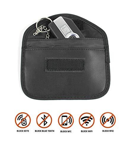 Hornig Keyless Go Schlüsseltasche, Schlüsseletui mit RFID und NFC-Blocker