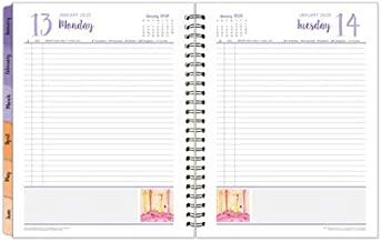 Monarch Her Point of View One-Page-Per-Day 6 Month Wire-Bound Planner - Jan 2020 - Jun 2020