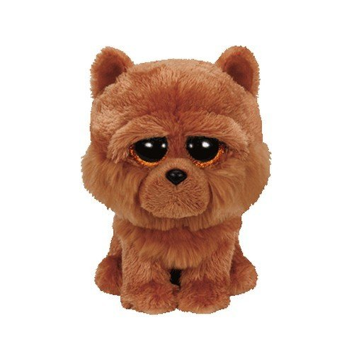 TY - Beanie Boo's Barley Regular, perro Chow de peluche, 15 cm (United Labels Comicwa 36193TY) , color/modelo surtido