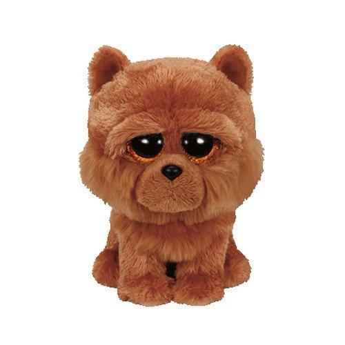 TY - Beanie Boo's Barley Regular, perro Chow de peluche, 15 cm (United...