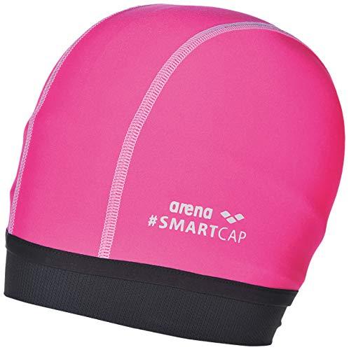 ARENA Unisex Kinder Badekappe Smartcap Junior, Fluo pink, one Size