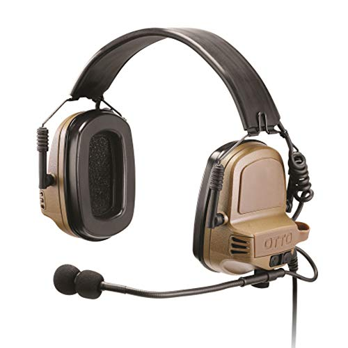 Buy OTTO NoizeBarrier TAC Tactical Communications Headset for Harris XG-25 XG-75 P7350 P7370 P5570 P...