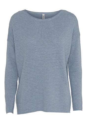 SOYACONCEPT - Damen Pullover, SC-Niaka 4 (32784), Größe:XXL, Farbe:blau (6180)