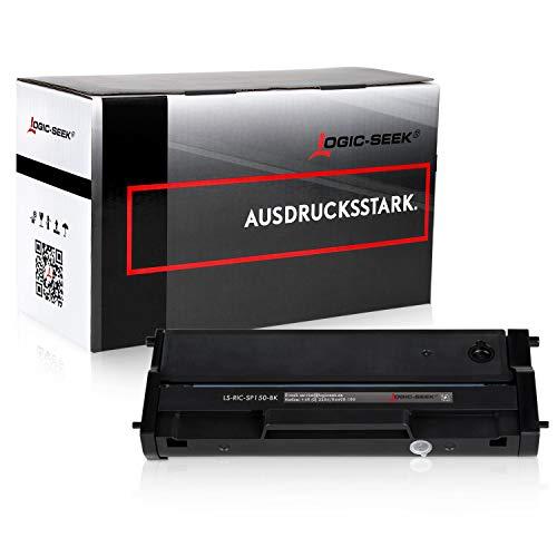 Logic-Seek Toner kompatibel zu Ricoh SP 150 Type-150 HC für Ricoh SP 150w, SP 150suw, SP 150su, SP 150 - Schwarz 1.500 Seiten