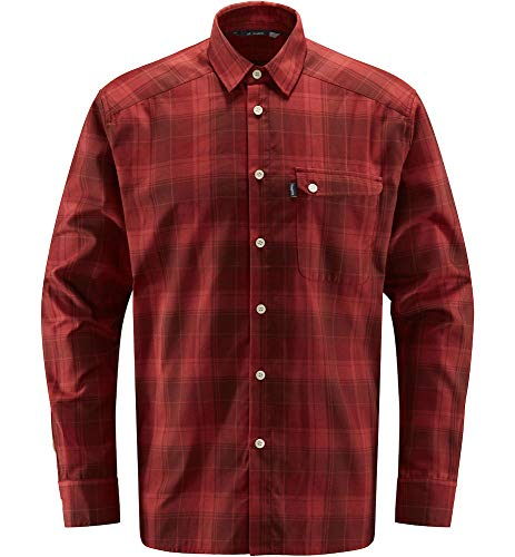 Haglöfs Tarn Flannell Chemise pour Homme XL Rouge (Maroon Red/Brick Red)