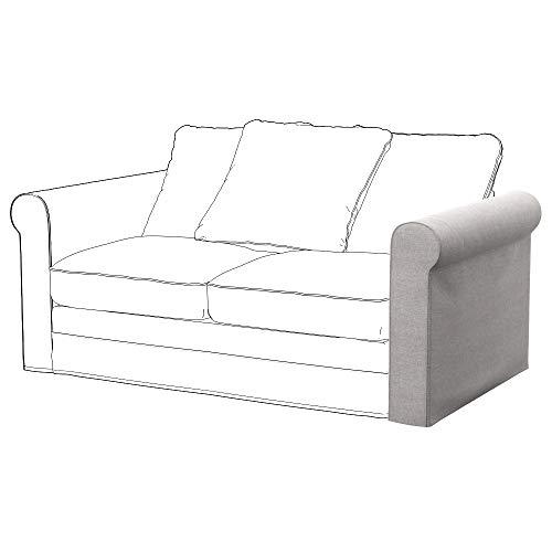 Soferia Funda de Repuesto para IKEA GRONLID apoyabrazo, Tela Classic Beige, Beige
