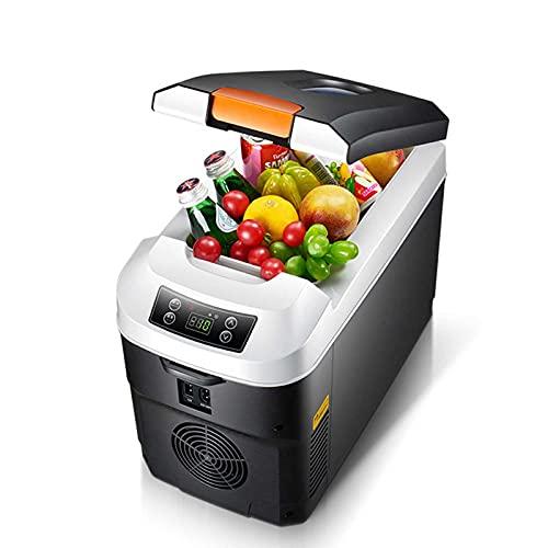 HELOU Mini Refrigerador De Enfriamiento Rápido De 11 litros para Dormitorio, Refrigerador Portátil para El Cuidado De La Piel Mini Refrigerador para Oficina Y Automóvil Refrigerador Y Calentador