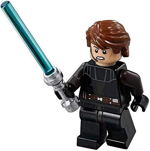 LEGO Star Wars: Anakin Skywalker (Clone) Minifigure with Blue Lightsaber by LEGO