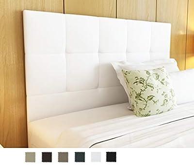 No realizamos envíos a Baleares. Cebecero confeccionado en polipiel en colores blanco, piedra, choco, visón, negro y antracita. Cabecero pequeño de 105x115cm: camas de 80 / 90 /105cm y cabecero grande de 150x115cm: camas de 135 / 140 /150cm. Fabricad...
