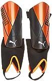 PUMA ftblNXT Pro Flex Ankle Espinillera Futbol, Unisex-Adult, Shocking Orange Black White, XS