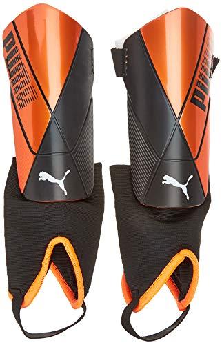 PUMA Unisex-Adult ftblNXT PRO Flex Ankle Schienbeinschoner, Shocking Orange Black White, L