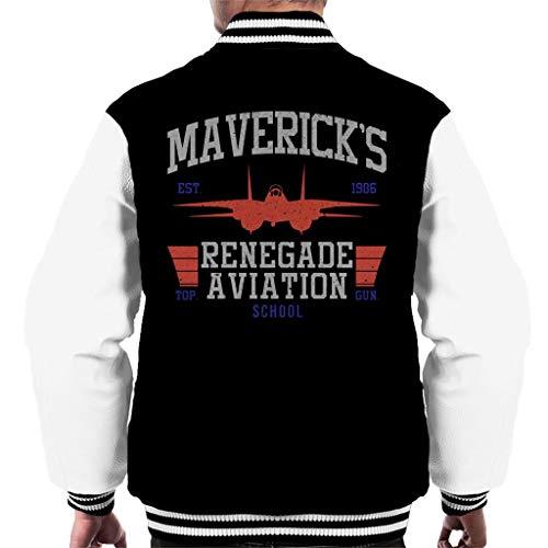 Mavericks Renegade Aviation School Top Gun Men's Varsity Jacket