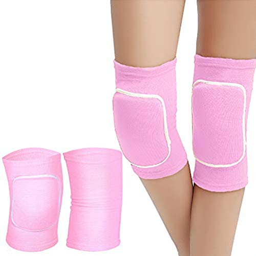 Haploon 2 Pairs Sports Knee Pads Anti-Collision Knee Braces for Volleyball Basketball Football Dance...