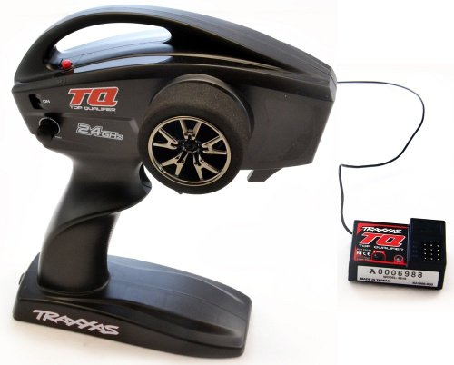 Traxxas 1/10 Slash Raptor TQ 2-Ch RADIO & RECEIVER 2.4GHz Transmitter...