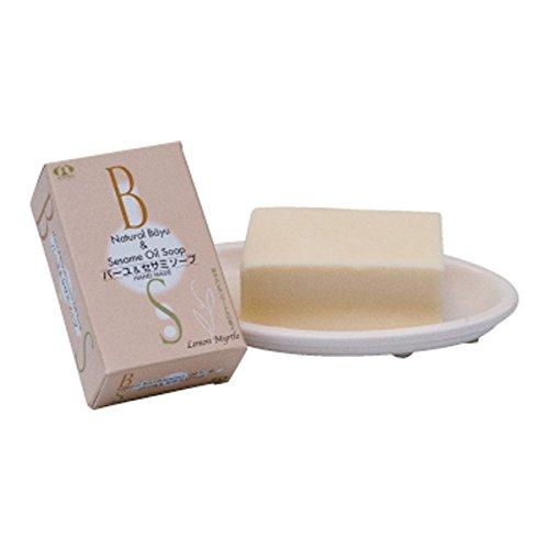 Nippon Soken Bayu & Sesame soap / 100g [bath] [Baby Mama sensitive skin] [Horse oil] SCNS005 *AF27*