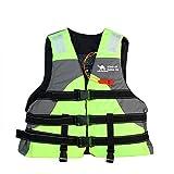 ENTRE NUBES Complementos de flotación 50N para Niño y Niña Homologado para Deporte acuático Pesca Kayak Rafting Motos de Agua Barco Infantil (Altura 120-155cm | Peso: 35-45 KG)