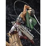 Anime Attack On Titan Figura Levi Ackerman PVC Figura de acción Personaje Rivaille Modelo Estatua colección Escritorio Decoraciones Regalo