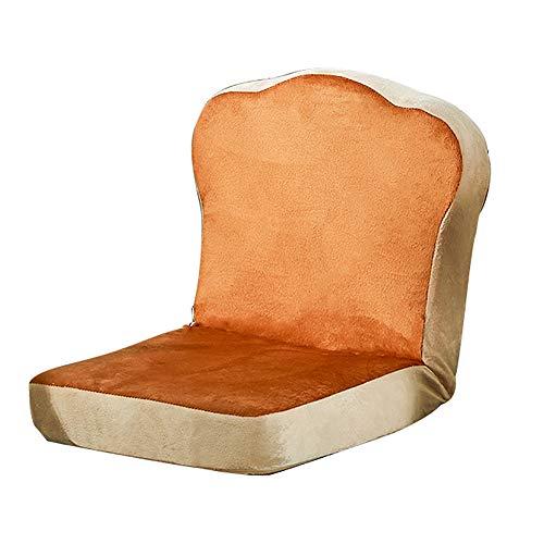 MIMI KING Netter Folding faules Sofa, 6-Fach verstellbare Rückenlehne, weich und bequem Einzel Sofa, Stuhl, Computer-Stuhl-Kissen für Wohnzimmer Schlafzimmer Schlafbett,Kaffee