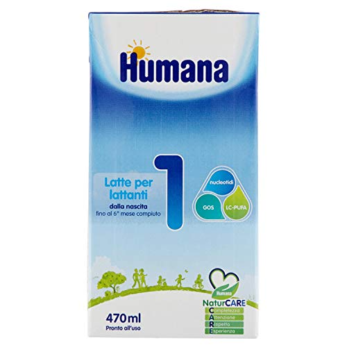 Humana 1 Latte per Lattanti - 470 ml