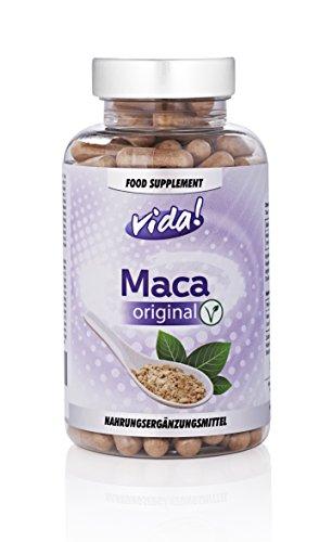 Maca Original | Vegetarian & Natural | 4:1 Extract - 2000mg Equivalent...