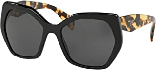 Prada PR16RS HERITAGE Hexagon Sunglasses For Women+FREE Complimentary Eyewear Care Kit